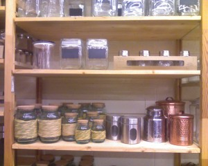 World Market Jar selection